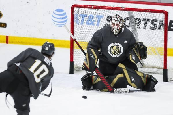 Golden Knights return to ice for training camp