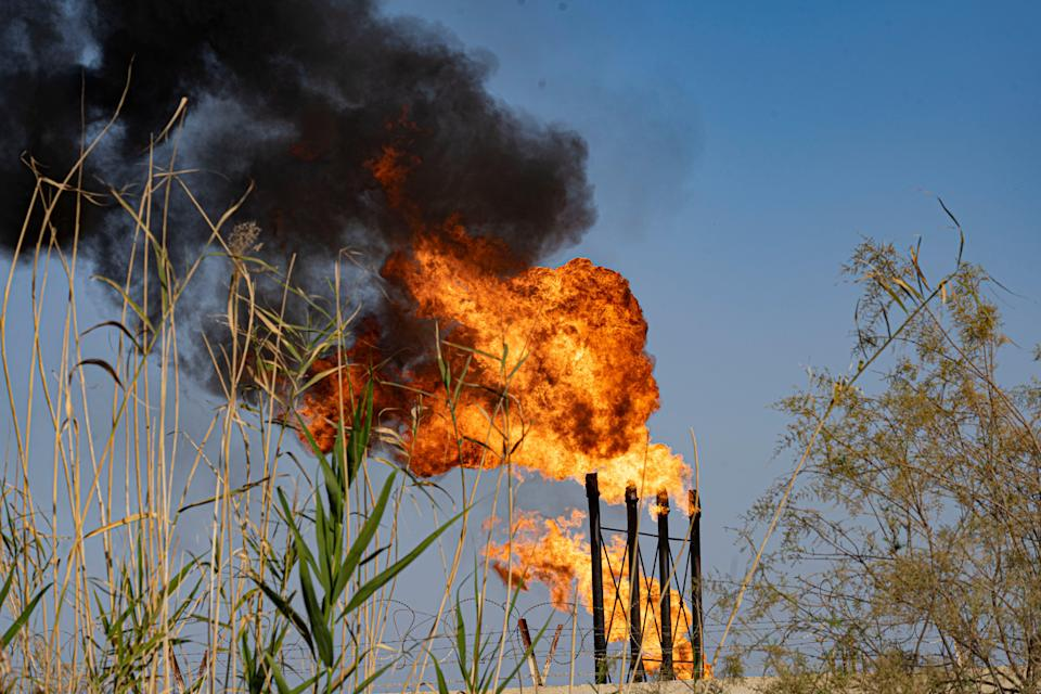 The wasted gas could be used to power Iraq's electricity networkBel Trew