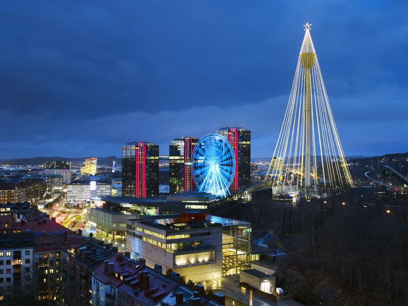 Gothia Towers is one of the most sustainable hotels in the cityGothia Towers