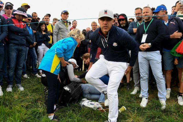 """Koepka said he was """"heartbroken"""" by the news of the fan's injury"""
