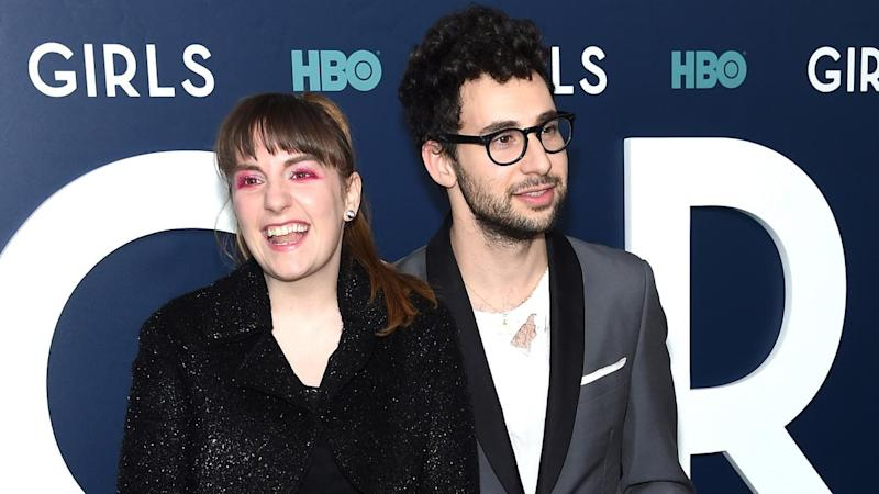 Lena Dunham Cozies Up to 'Best Friend' and Ex Jack Antonoff in New Selfie