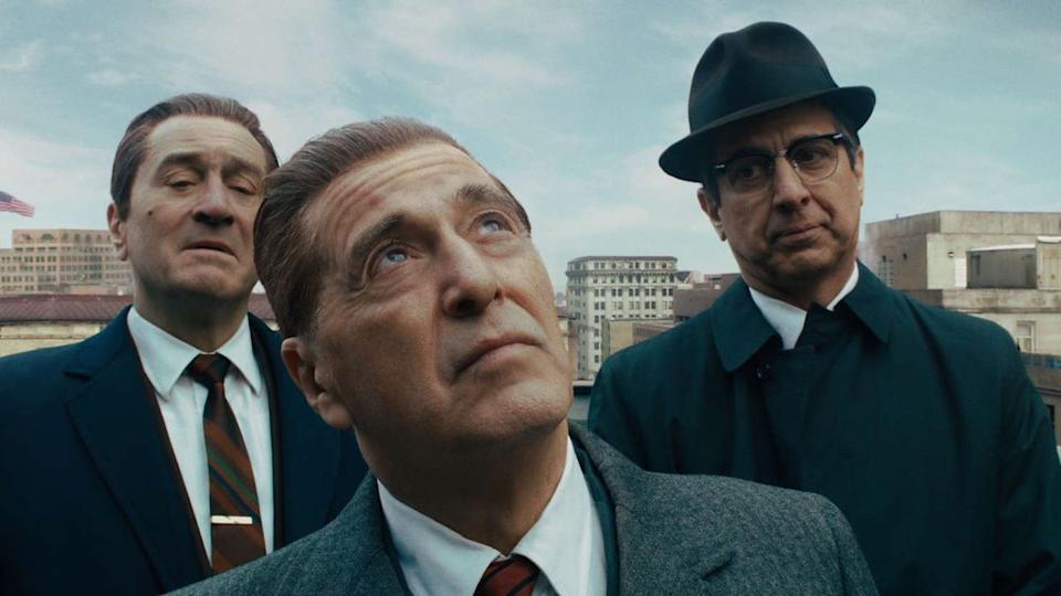The Irishman is one of the best movies on Netflix