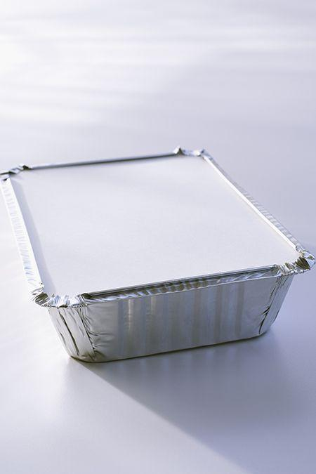 <p>For you next picnic or barbecue, pack your side dish in one of these disposable tins. You may have to double up on the dollar store variety, but even if you do, their pans still cost half as much as the name brand. </p>