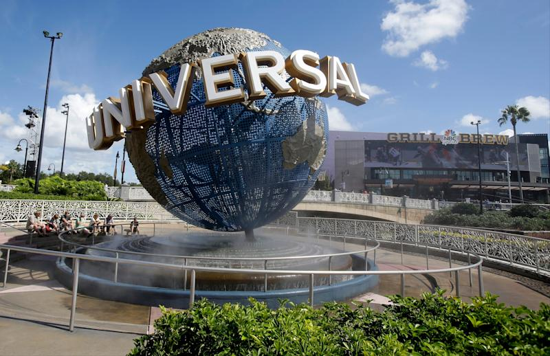 Universal Orlando reopens after police respond to report of a gunman in parking garage
