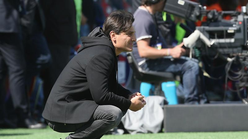 Montella: AC Milan on track despite draw at Crotone