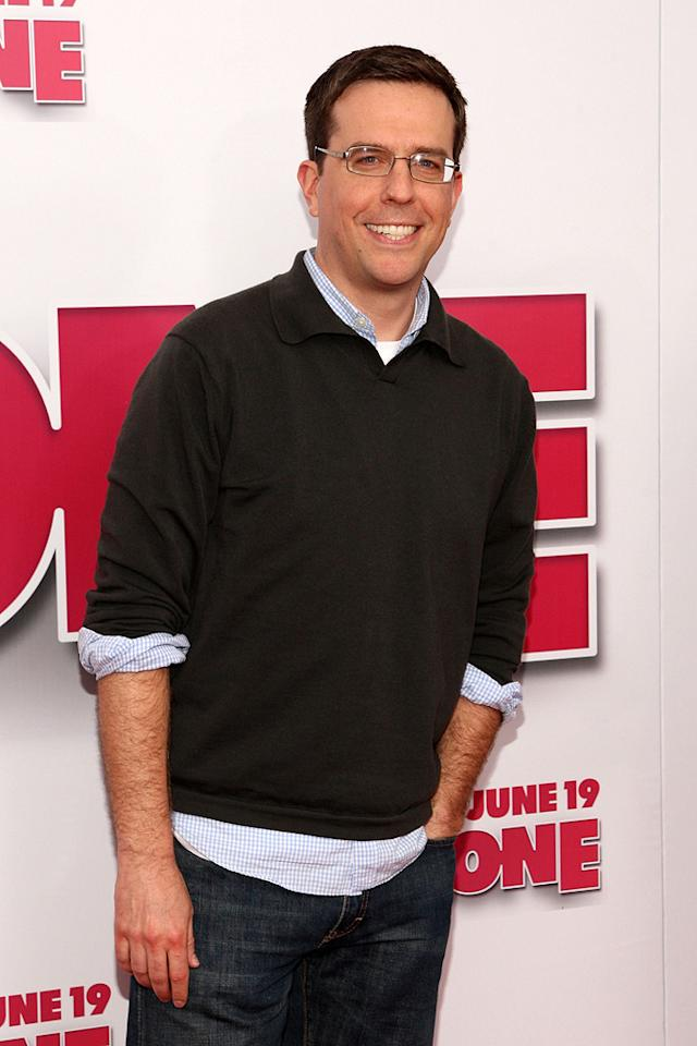 """<a href=""""http://movies.yahoo.com/movie/contributor/1809704692"""">Ed Helms</a> at the New York premiere of <a href=""""http://movies.yahoo.com/movie/1809981033/info"""">Year One</a> - 06/15/2009"""