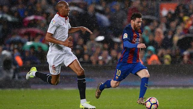<p>N'Zonzi's impressive form has come in La Liga, so it's understandable that clubs in that division will have taken notice.</p> <br><p>Barcelona were rumoured to have identified the former Blackburn and Stoke man as a potential backup option to Sergio Busquets last year, and it could be that they are still interested.</p> <br><p>He would likely thrive in the role, although a mere backup might not appeal to a player with the ambition of N'Zonzi.</p>