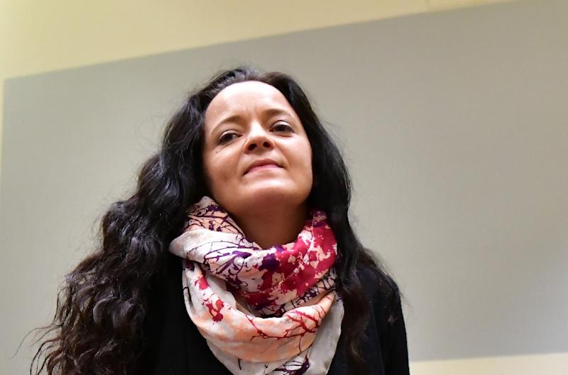 Defendant Beate Zschaepe waits in court before she was jailed for life as the only surviving member of a neo-Nazi cell behind a string of racist murders in Germany