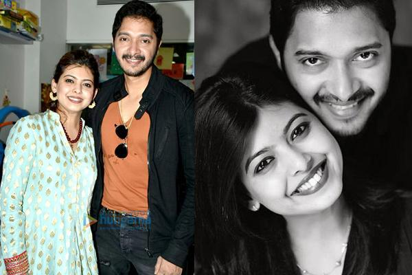Shreyas Talpade and Deepti
