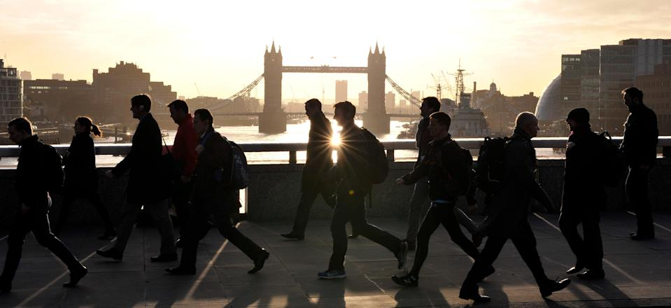 Two out of five workers have taken less holiday during the pandemic (AFP via Getty Images)