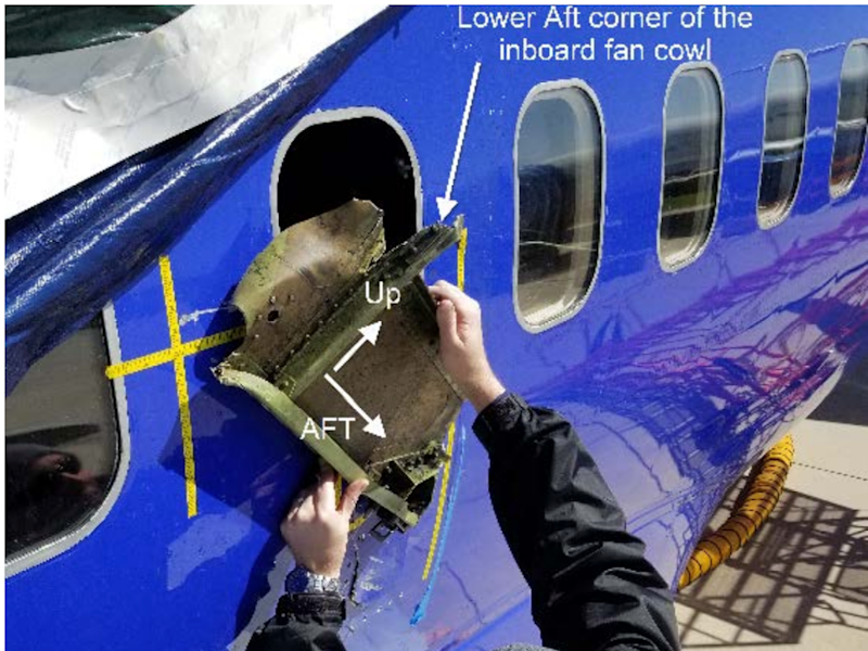 NTSB finds fatigue cracking on Southwest CFM56-7B failed blade