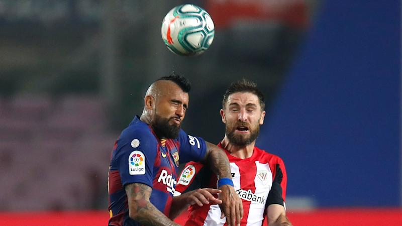 Arturo Vidal y Yeray 230620 Athletic Bilbao