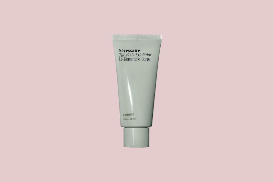 """<p>Treat your mom and sister to a renewed glow with this body scrub by Nécessaire. This gel lotion comes in a soft eucalyptus scent and is <a href=""""https://www.marthastewart.com/1538676/clean-skincare-beauty-products-explained"""" rel=""""nofollow noopener"""" target=""""_blank"""" data-ylk=""""slk:guaranteed clean and vegan"""" class=""""link rapid-noclick-resp"""">guaranteed clean and vegan</a>; the company uses 85-percent post-consumer waste boxes and 100-percent recyclable paper for boxes and shippers. They work with Forest Stewardship Council-certified vendors only and never use materials from virgin forests.</p> <p><strong><em>Shop Now: </em></strong><em>Nécessaire The Body Exfoliator, $30, <a href=""""https://click.linksynergy.com/deeplink?id=93xLBvPhAeE&mid=1237&murl=https%3A%2F%2Fwww.nordstrom.com%2Fs%2Fnecessaire-the-body-exfoliator%2F5442112&u1=MSL20SustainableGiftsforEveryoneonYourListrhaarsChrGal7991489202010I"""" rel=""""nofollow noopener"""" target=""""_blank"""" data-ylk=""""slk:nordstrom.com"""" class=""""link rapid-noclick-resp"""">nordstrom.com</a>.</em></p>"""