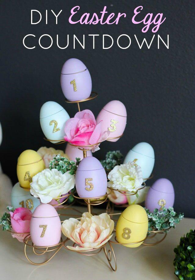 "<p>This advent calendar-inspired Easter countdown includes Bible verses in each egg.</p><p><strong>Get the tutorial at <a href=""https://designimprovised.com/2018/03/make-easter-egg-countdown-calendar.html"" rel=""nofollow noopener"" target=""_blank"" data-ylk=""slk:Design Improvised"" class=""link rapid-noclick-resp"">Design Improvised</a>.</strong></p><p><strong><a class=""link rapid-noclick-resp"" href=""https://www.amazon.com/Prextex-Plastic-Color-Easter-Eggs/dp/B077Y43XTX/?tag=syn-yahoo-20&ascsubtag=%5Bartid%7C10050.g.30928377%5Bsrc%7Cyahoo-us"" rel=""nofollow noopener"" target=""_blank"" data-ylk=""slk:SHOP EASTER EGGS"">SHOP EASTER EGGS</a><br></strong></p>"