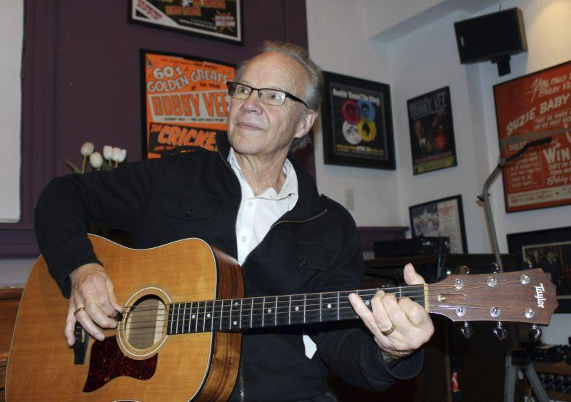Bobby Vee, aka Robert Thomas Velline, was a 1960s teen idol and American pop singer who scored 38 Hot 100 chart hits. He first gained fame as a teenager when he filled in for Buddy Holly at a Minnesota gig after Holly was killed in a plane crash. Vee died on Oct. 24 from complications of early onset Alzheimer's disease. He was 73. (Photo: AP)