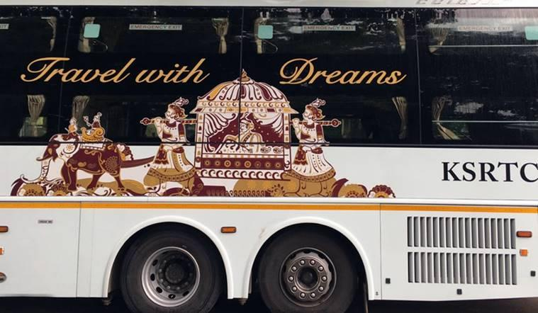 KSRTC-Karnataka-Ambaari-Dream-Class-Volvo-buses-road-service-inter-state-side