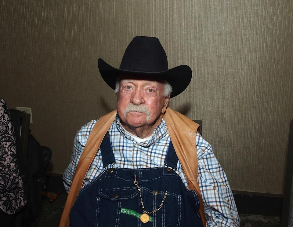 PARSIPPANY, NJ - OCTOBER 26: Wilford Brimley attends the Chiller Theatre Expo Fall 2019 at Parsippany Hilton on October 25, 2019 in Parsippany, New Jersey. (Photo by Bobby Bank/Getty Images)