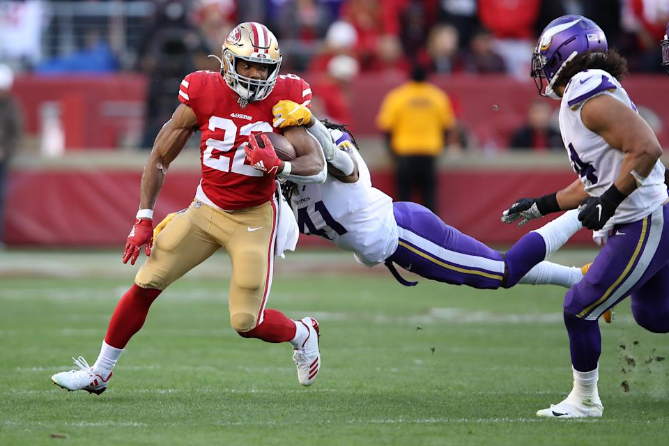Matt Breida is on the move to the Dolphins. (Photo by Sean M. Haffey/Getty Images)