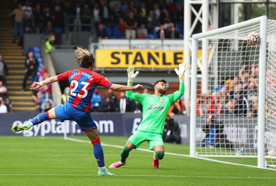 Conor Gallagher's first half strike was as close as anyone came to a goal (Getty Images)