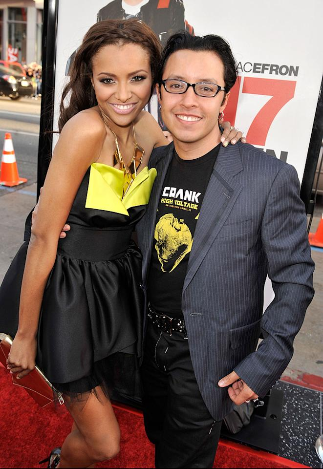 "<a href=""http://movies.yahoo.com/movie/contributor/1804511844"">Efren Ramirez</a> and guest at the Los Angeles premiere of <a href=""http://movies.yahoo.com/movie/1810038675/info"">17 Again</a> - 04/14/2009"