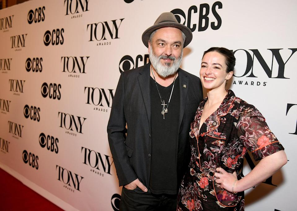 NEW YORK, NEW YORK - MAY 01: Jez Butterworth and Laura Donnelly attend The 73rd Annual Tony Awards Meet The Nominees Press Day at  Sofitel New York on May 01, 2019 in New York City. (Photo by Jenny Anderson/Getty Images for Tony Awards Productions)
