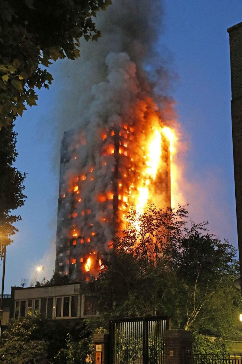 Grenfell tragedy: A fire ripped through the tower block in June last year