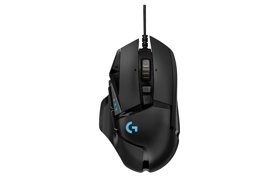 Logitech G - G502 HERO. Foto: amazon.com.mx