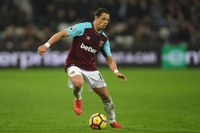West Ham striker Javier Hernandez refuses to commit his future to the club