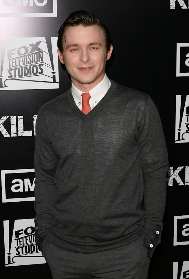 """Marshall Allman attends AMC's """"<a target=""""_blank"""" href=""""http://tv.yahoo.com/killing/show/46787"""">The Killing</a>' Season 2 Los Angeles Premiere at ArcLight Cinemas on March 26, 2012 in Hollywood, California."""
