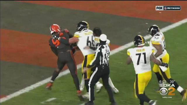 HS Football Coach Talks About What Steelers-Brown Brawl Teaches Young Players