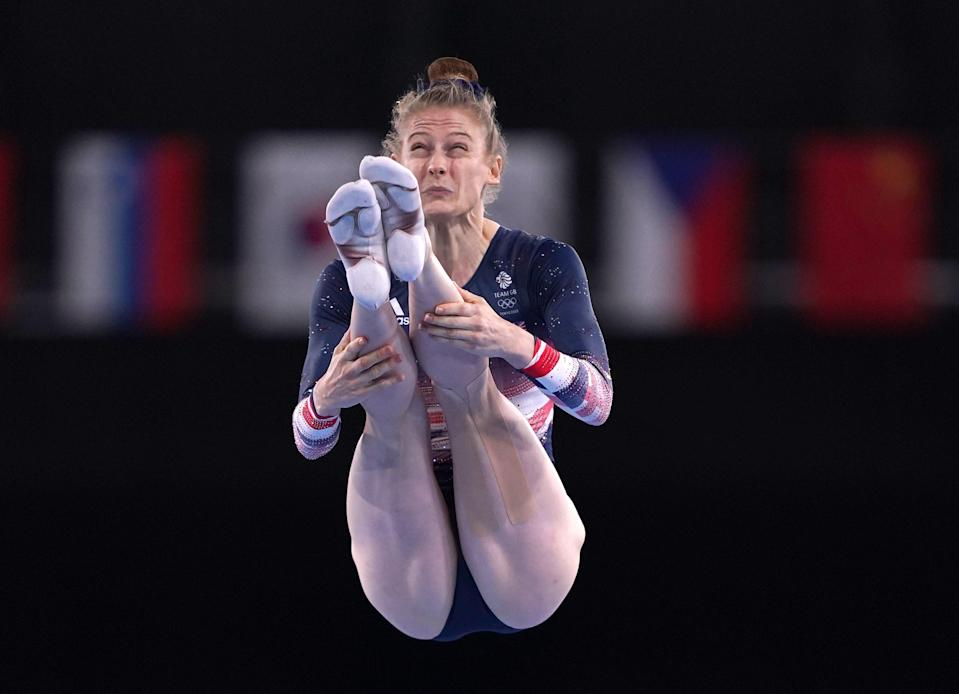 Bryony Page added a second Olympic medal of her career (Mike Egerton/PA) (PA Wire)