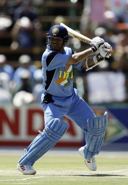 Sachin Tendulkar was brilliant through the 2003 World Cup and wrested the player-of-the-tournament award.