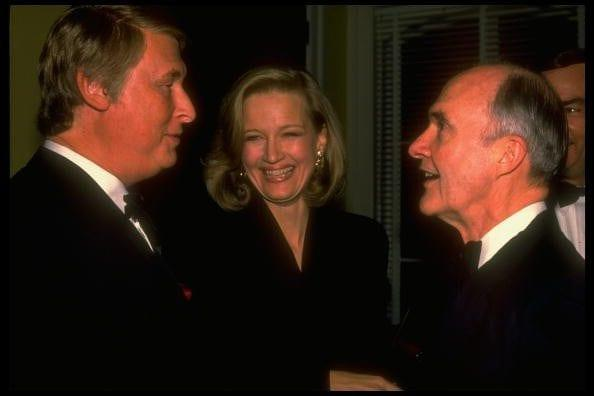 With the broadcaster Diane Sawyer and her husband, the film director Mike Nichols  - Cynthia Johnson/The LIFE Images Collection via Getty Images/Getty Images