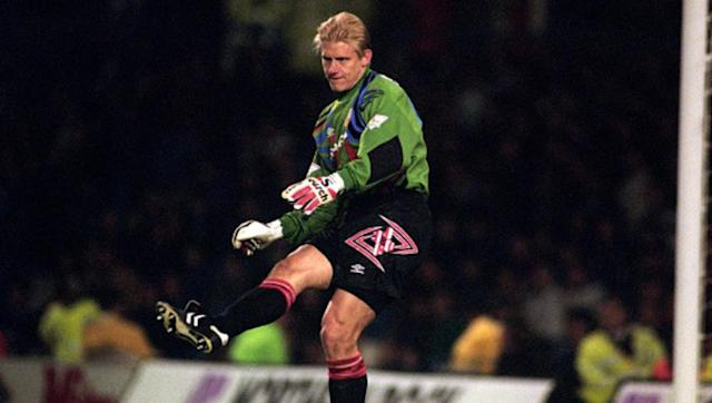 <p><strong>Premier League team at the time: Manchester United</strong></p> <br><p>The only other club to have two players from outside the United Kingdom amongst their ranks, Manchester United somehow picked up Peter Schemichel for just £505,000, with the Danish stopper quickly imposing himself on the league. </p> <br><p>Still considered the greatest goalkeeper in Premier League history, Schmeichel played between the sticks for the Red Devils for a total of seven Premier League campaigns, five of which he ended up with a winners' medal. </p>
