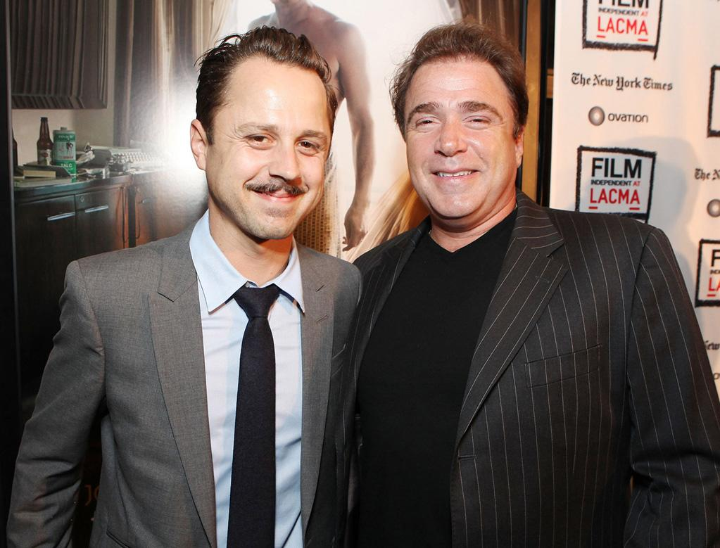 """<a href=""""http://movies.yahoo.com/movie/contributor/1800019606"""">Giovanni Ribisi</a> and <a href=""""http://movies.yahoo.com/movie/contributor/1800019422"""">Michael Rispoli</a> at the Los Angeles premiere of <a href=""""http://movies.yahoo.com/movie/1810077951/info"""">The Rum Diary</a> on October 13, 2011."""
