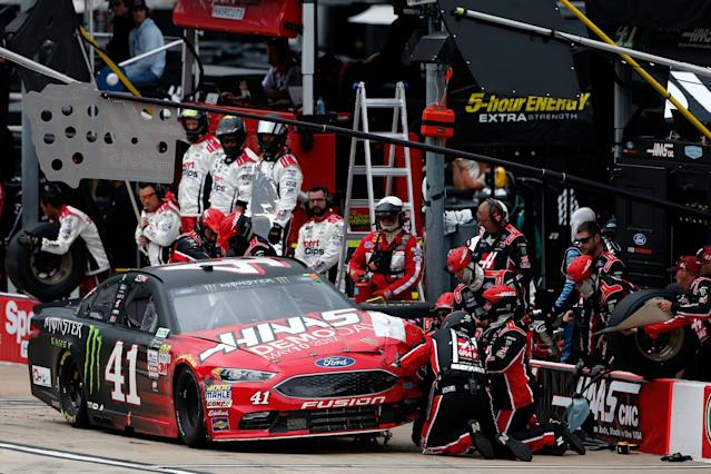"<a class=""link rapid-noclick-resp"" href=""/nascar/sprint/drivers/156/"" data-ylk=""slk:Kurt Busch"">Kurt Busch</a> finished 25th on Sunday and is 18th in the points standings. (Getty)"