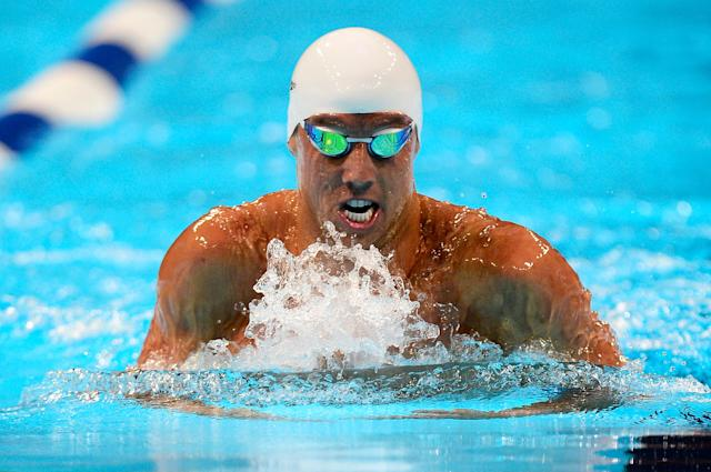 OMAHA, NE - JUNE 28: Clark Burckle competes in the second semifinal heat of the Men's 200 m Breaststroke during Day Four of the 2012 U.S. Olympic Swimming Team Trials at CenturyLink Center on June 28, 2012 in Omaha, Nebraska. (Photo by Jamie Squire/Getty Images)