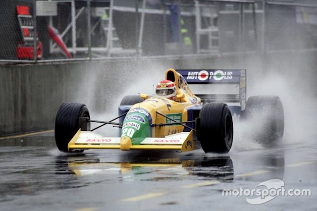"1991 - Benetton B190B <span class=""copyright"">Ercole Colombo</span>"