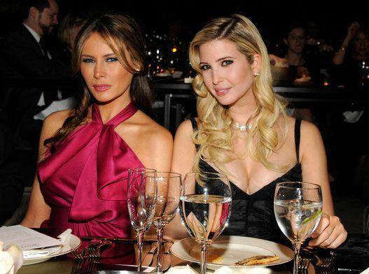 With Ivanka Trump.