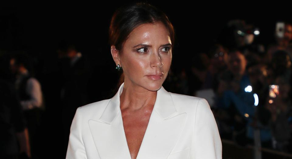 Victoria Beckham wears her own workout clothes from her VB x Reebok collection [Photo: Getty Images]