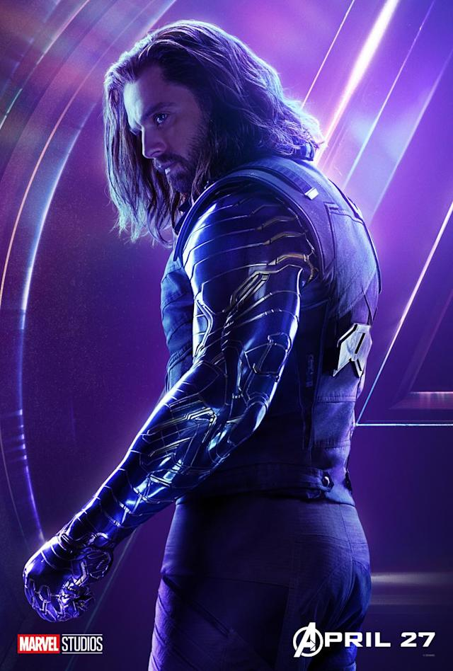 <p>Sebastian Stan's Bucky Barnes has been defrosted and un-brainwashed by everyone's favorite new Disney princess, Shuri. (Photo: Marvel Studios) </p>