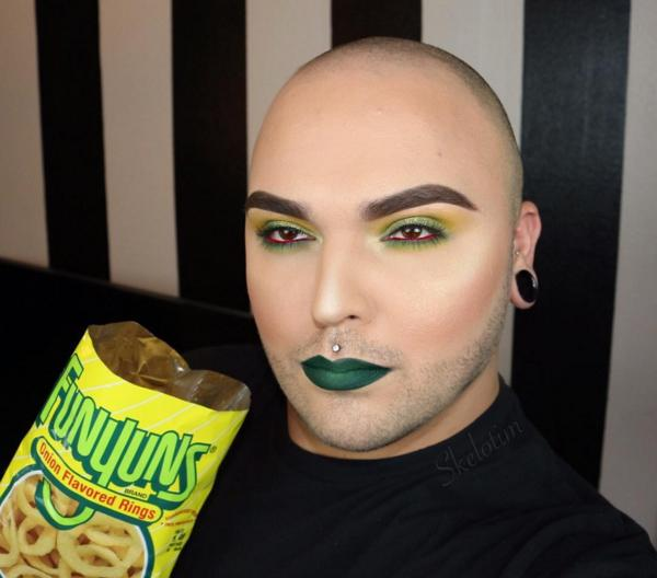 Click through to see which snacks have inspired Tim O's makeup looks.