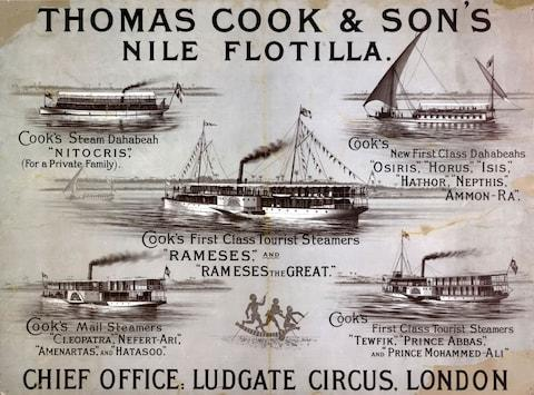Nile cruises were offered in the 1890s - Credit: THOMAS COOK