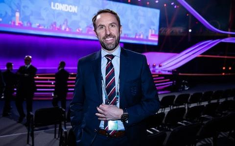 <span>England manager Gareth Southgate is in attendance</span> <span>Credit: Getty images </span>