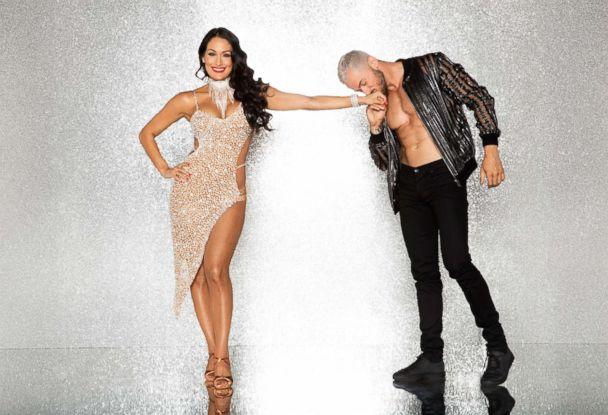 PHOTO: Nikki Bella and pro dancer Artem Chigvintsev will compete for the mirror ball title on the new season 'Dancing With The Stars.' (Craig Sjodin/ABC)