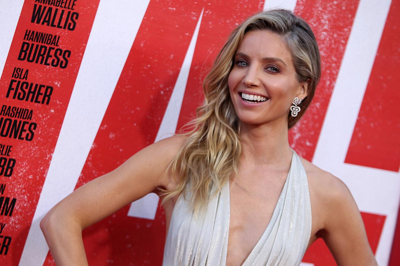 """Annabelle Wallis attends the Premiere Of Warner Bros. Pictures And New Line Cinema's """"Tag"""" held at Regency Village Theatre on June 07, 2018 in Los Angeles, California, United States. (Photo by Art Garcia/Sipa USA)"""
