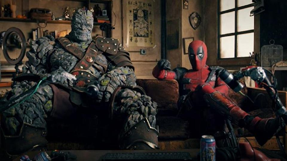 """Deadpool and Korg """"react"""" to the Free Guy trailer."""