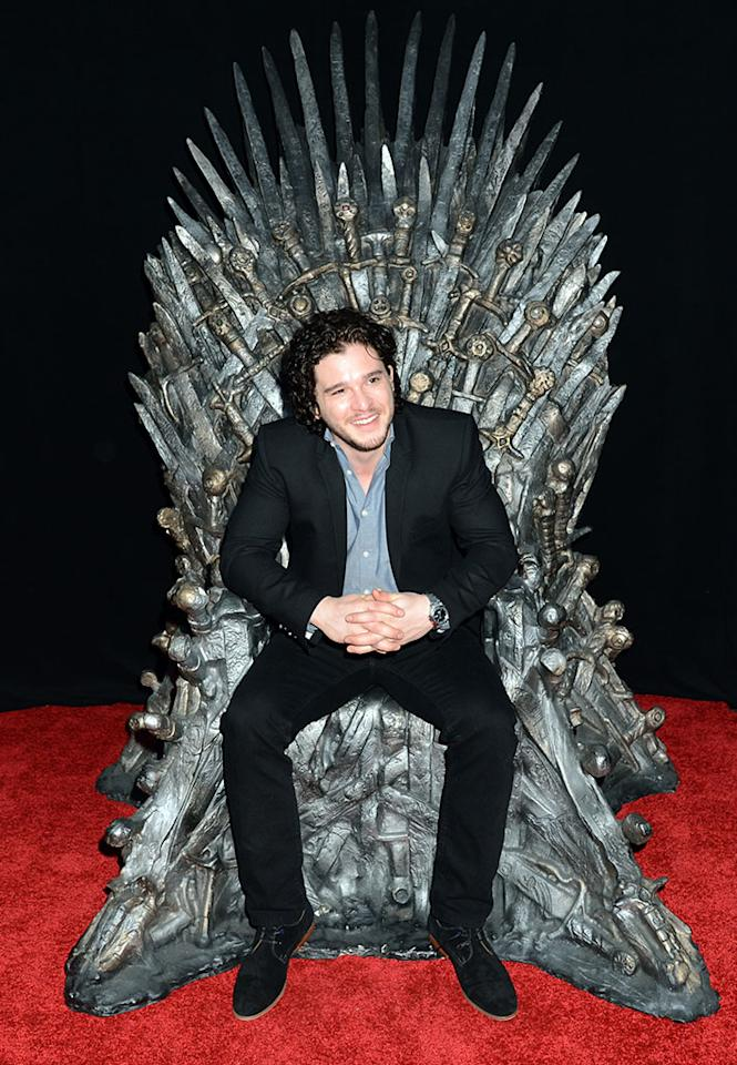 "Kit Harington attends The Academy of Television Arts & Sciences'  presentation of An Evening With ""Game of Thrones"" at TCL Chinese Theatre on March 19, 2013 in Hollywood, California."