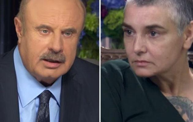 Sinead sits down with Dr Phil to discuss her troubles. Source: YouTube