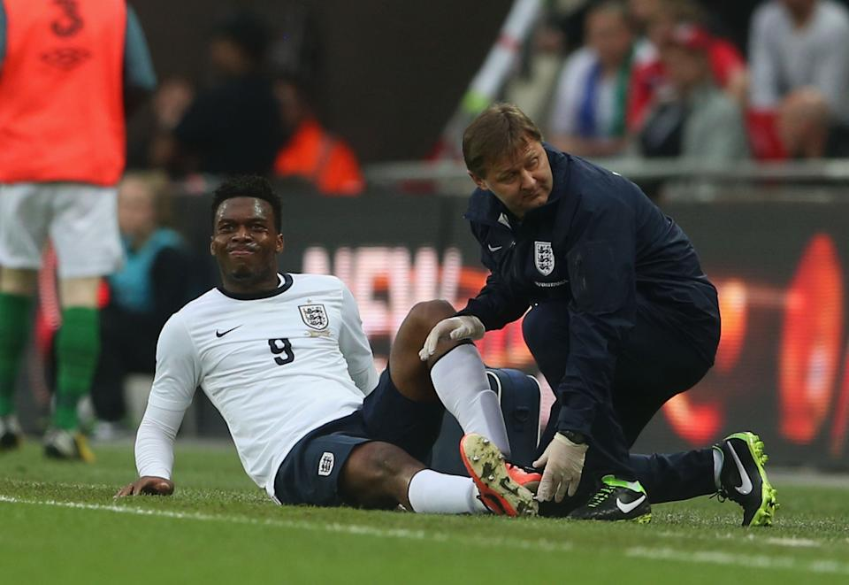Sturridge has failed to maintain his form on the pitch throughout his careerGetty